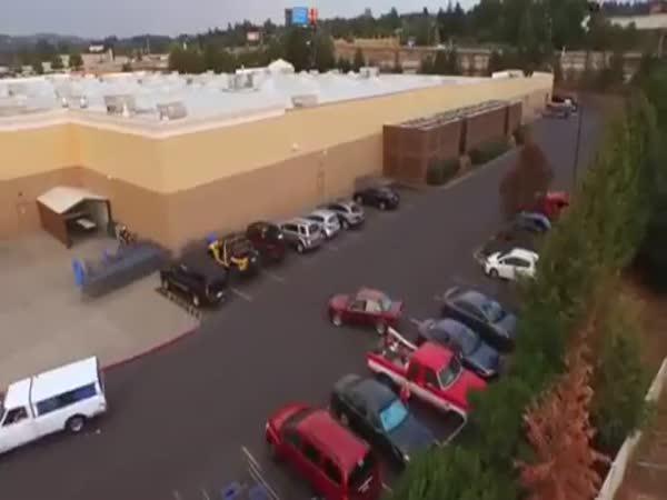 Odplata za předjetí na parkovišti