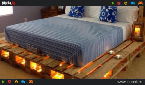 Nejlepší postele z palet