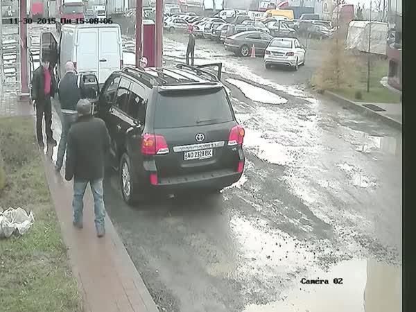 Slovák a Rus se potkali na silnici