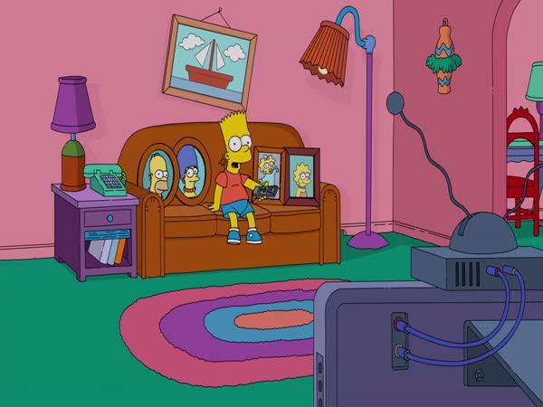 Bart se konečně dostal k ovladači