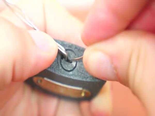 3 způsoby jak otevřít visací zámek