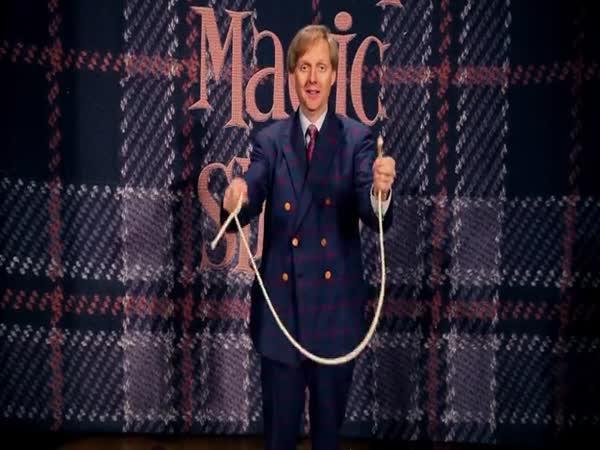Kouzelnický trik s provazem