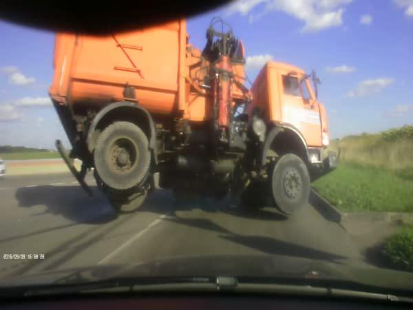 Když má řidič kamionu štěstí