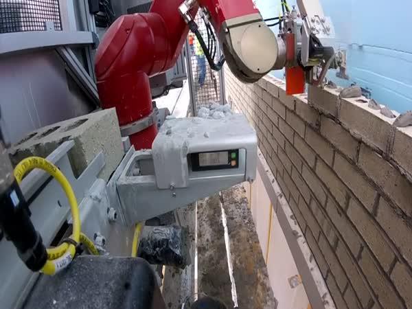 Robotický zedník