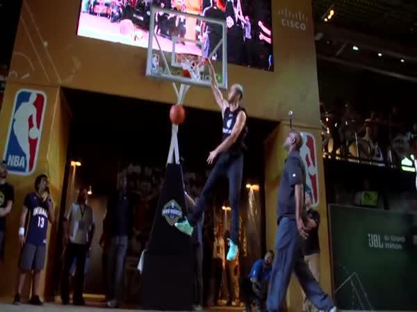 Úžasné basketbalové smeče