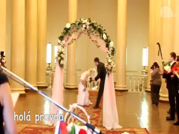 Svatební trapasy