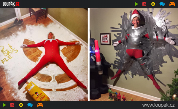 GALERIE - Vánoce a lá bláznivý otec
