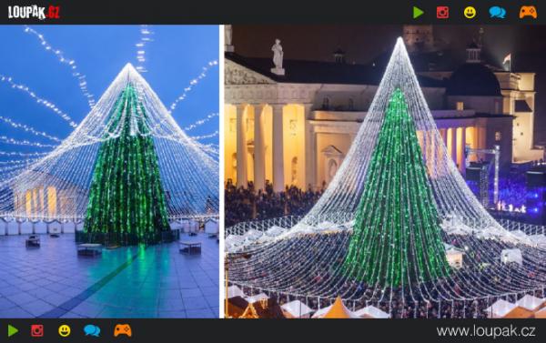 GALERIE - 50000 žárovek na jednom stromě