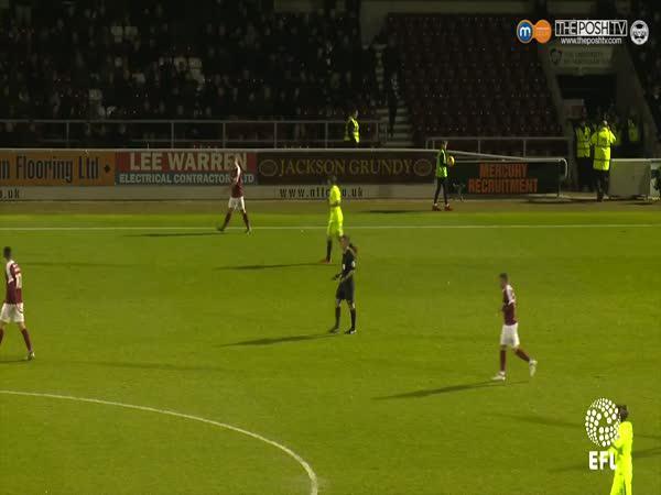 Fotbal - nevýhoda reflexních dresů