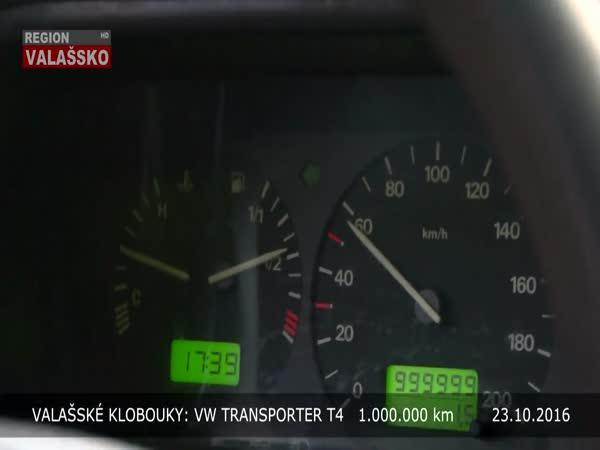 Český taxikář - Milion km s VW Transporter
