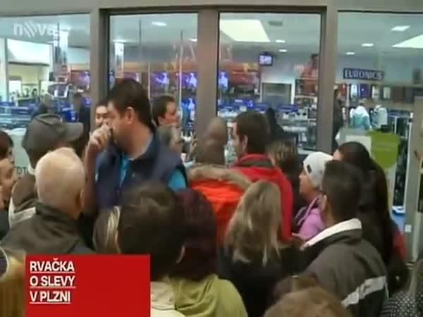 Česká republika – slevové šílenství
