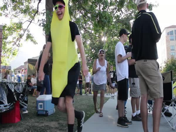 Tančící banán