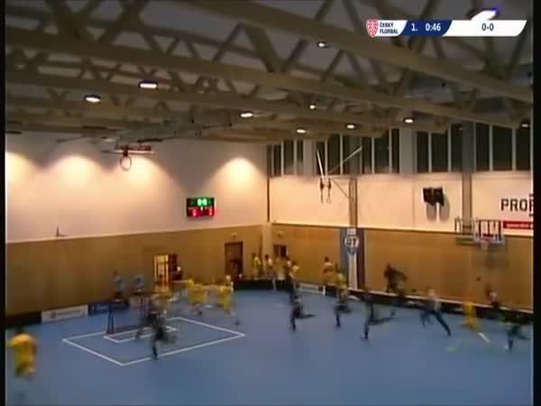 Zřícení střechy během zápasu (Česká republika)