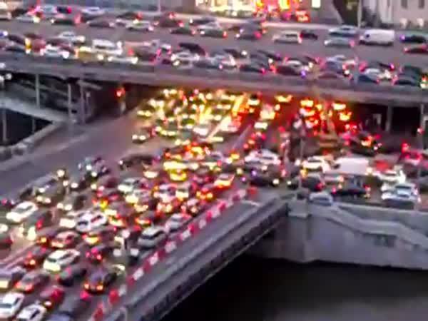 Každodenní doprava v Moskvě