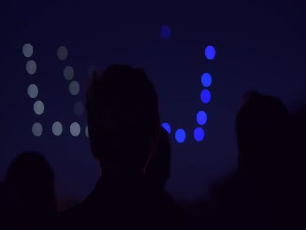 Show pomocí dronů