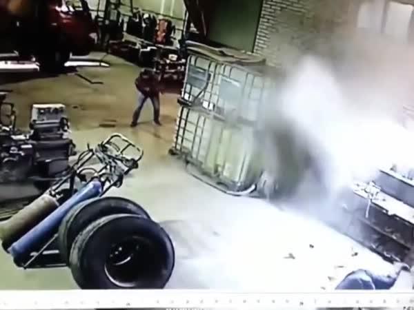 Když explodují pneumatiky