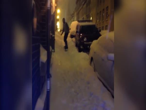 Po chodníku se nesnowboarduje (Québec)