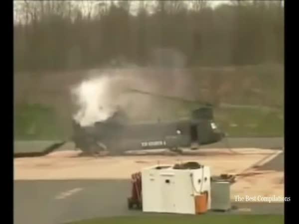 Pády vrtulníků