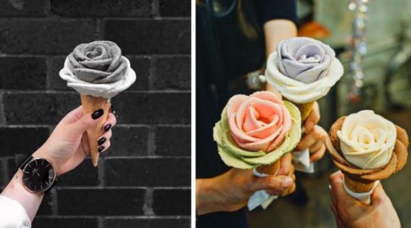GALERIE - Květinová zmrzlina