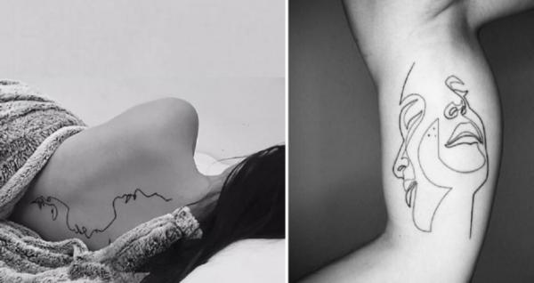 GALERIE - Tetování jedním tahem