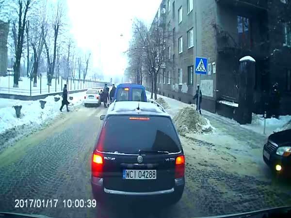 Taxikář vs. policisté