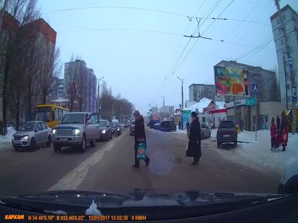 Ruský gentleman na silnici