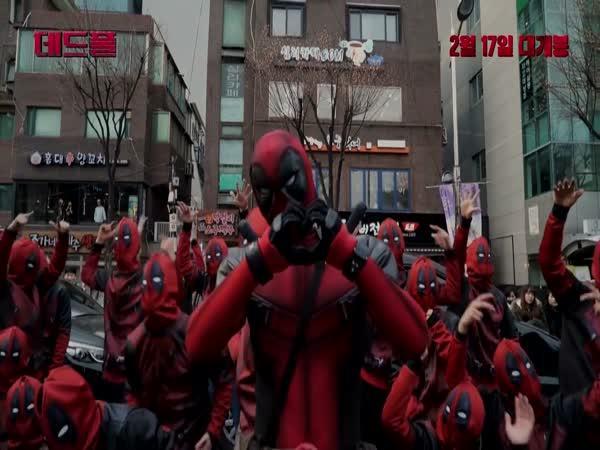 Deadpool jako taneční vystoupení