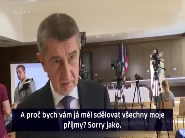 Andrej Babiš - sorry jako