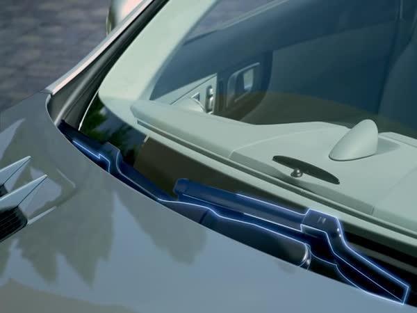 Revoluční stěrače u auta