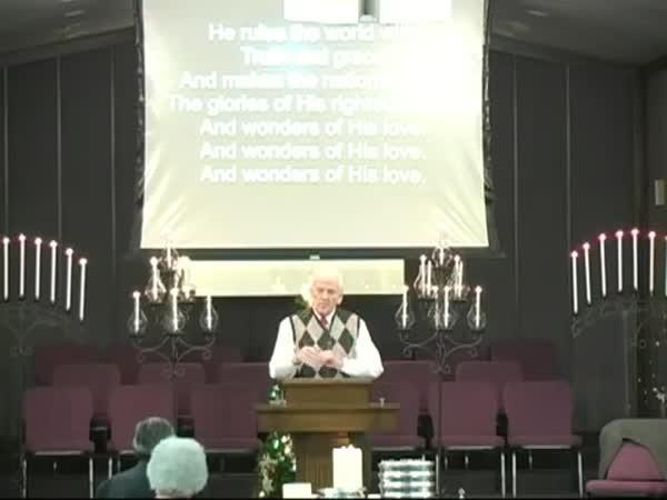 Trapas při bohoslužbě