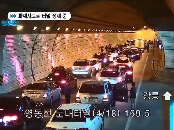 Jižní Korea - disciplína řidičů
