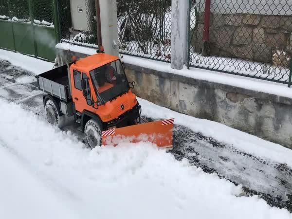 Jak uklidit sníh