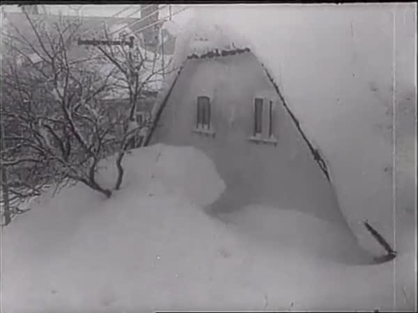 Československo - Sněhová kalamita 1947