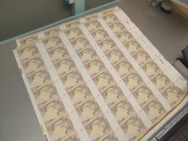 Jak se vyrábí 50eurovka
