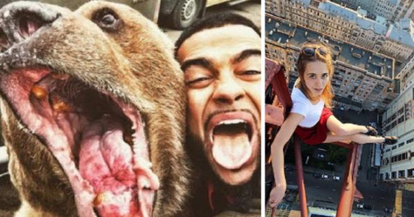 GALERIE - Nejšílenější selfie na světě