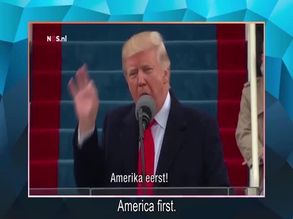 Holandsko vítá Trumpa
