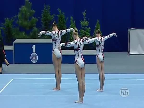 Úžasné ukrajinské akrobatky