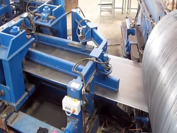 Jak se vyrábí ocelové potrubí