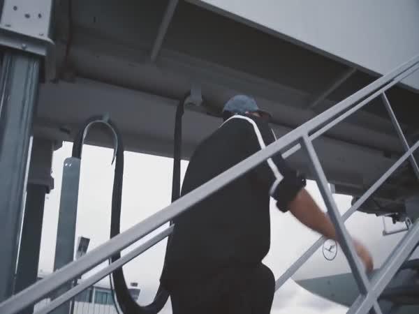 Jak se správně stíhá letadlo