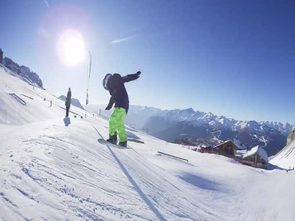 Borec - Šestiletý snowboardista