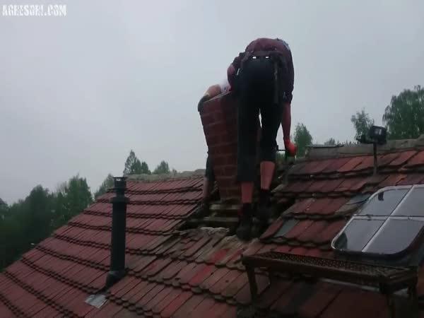 Oprava komínu se nezdařila
