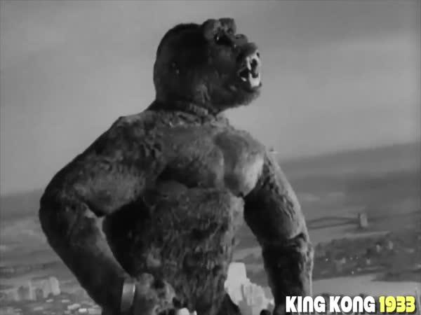 Evoluce - King Kong (1933–2017)