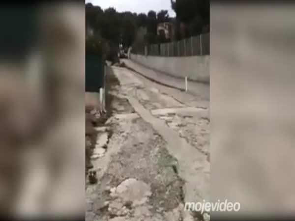 Bagru selhaly brzdy