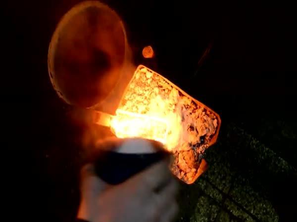 Ruční výroba damaškového nože