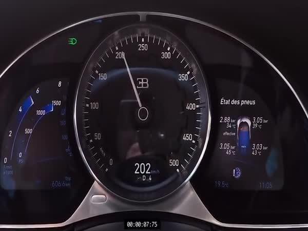 Bugatti Chiron - 0–351 km/h