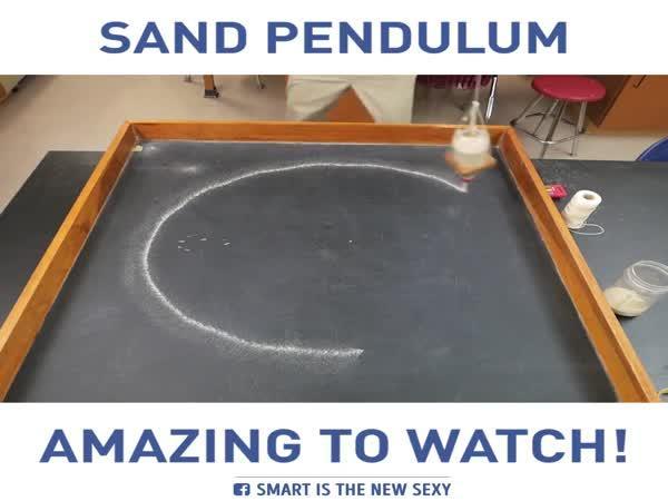 Kyvadlo z písku