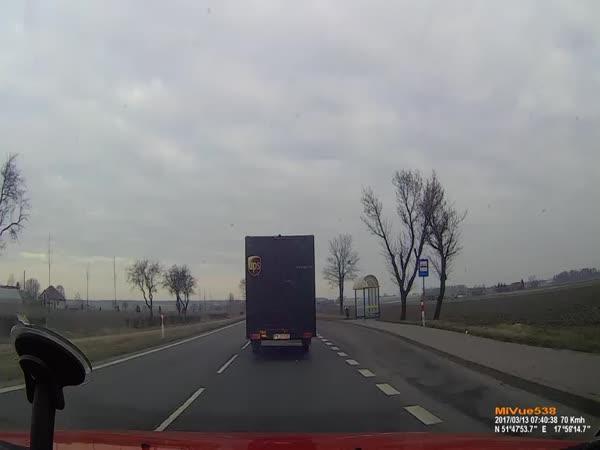 Česká republika - Idiot v dodávce