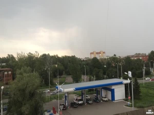 Rusko - Rychlá změna počasí