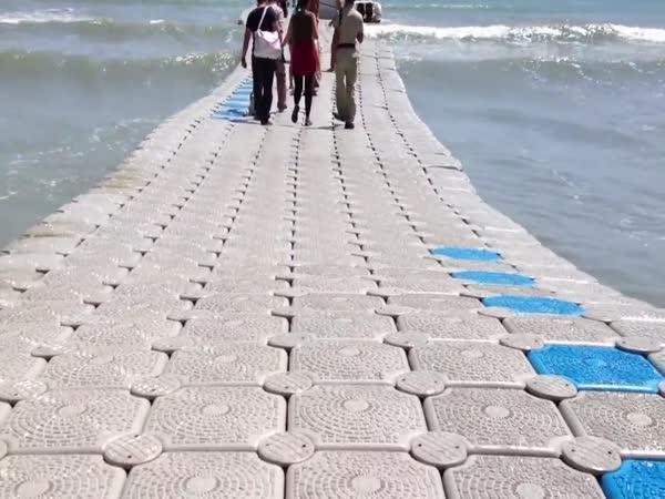 Takto se chodí po vodě