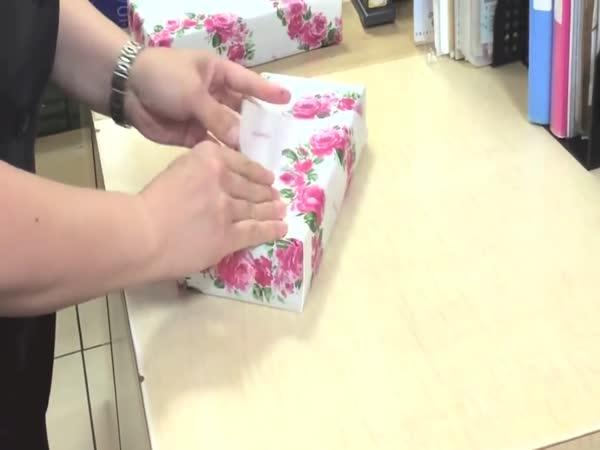 Rychlo balení dárků